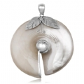 925 Silver Mother Pearl Pendant