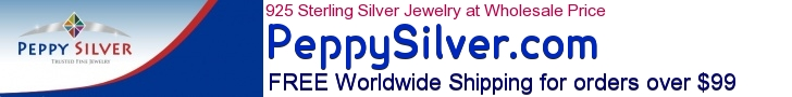 Buy 925 Wholesale Silver & Steel Jewellery Supplier from Singapore