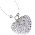 Swarovski Crystal White Fashion Necklace pendant
