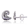 925 sterling Silver Plain Earring