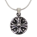 925 sterling Silver oxidized Pendant